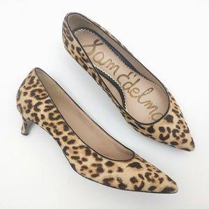 Sam Edelman Leopard Dori Heels Size 6.5